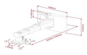 Multibrackets_M_Short_Throw_Deluxe_Projector_300-700_Medium_6